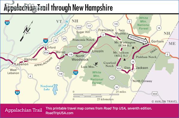 maine usa map road  3 Maine USA Map Road