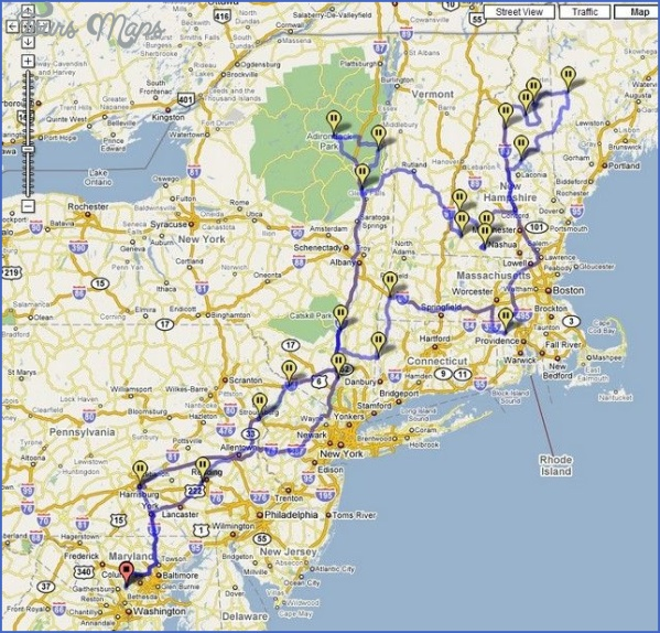 maine usa road map online  11 Maine USA Road Map Online