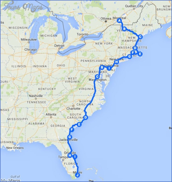 maine usa road map online  8 Maine USA Road Map Online
