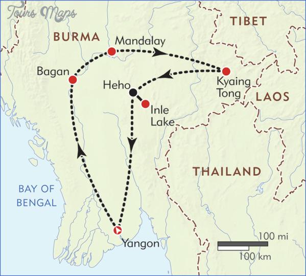map burma 4 Map Burma