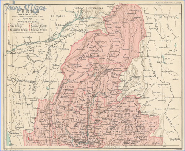 map of burma and india 0 Map Of Burma And India