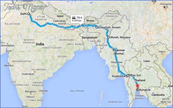map of burma and india 3 Map Of Burma And India