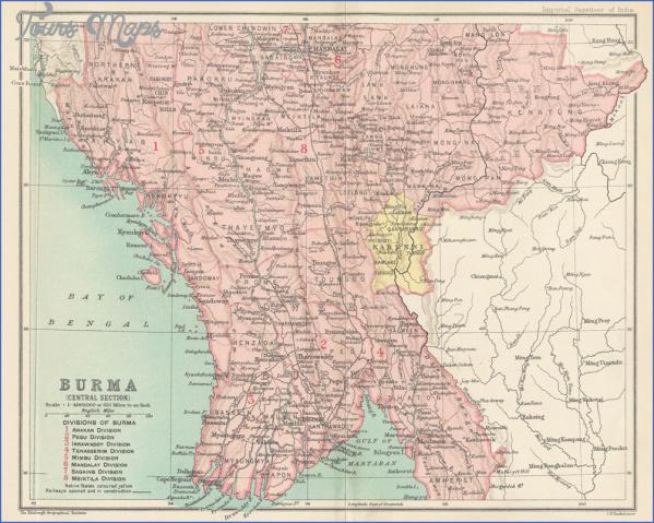 map of burma and india 8 Map Of Burma And India
