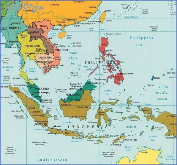 map of burma and surrounding countries 2 Map Of Burma And Surrounding Countries