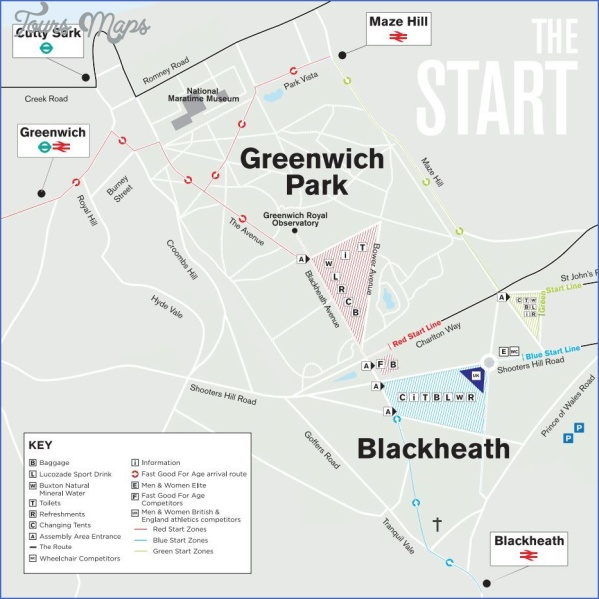 map of greenwich england 13 Map Of Greenwich England