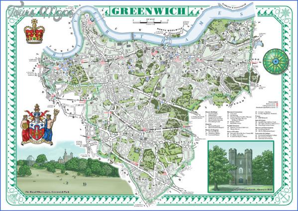 map of north greenwich 11 Map Of North Greenwich