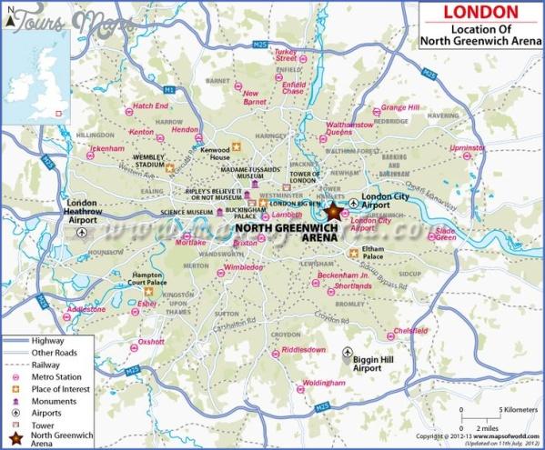 map of north greenwich 3 Map Of North Greenwich