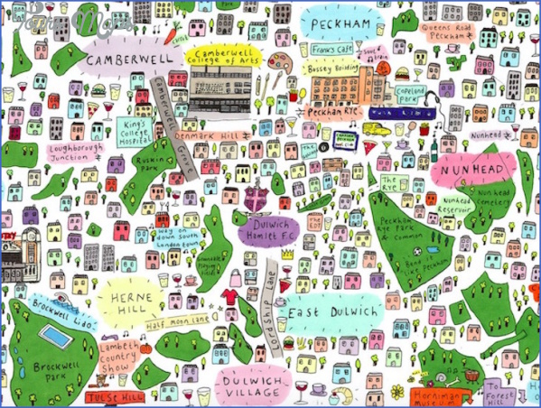 map of north greenwich 5 Map Of North Greenwich