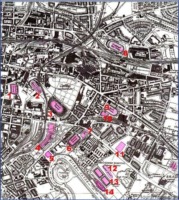 map of parkhead glasgow 0 Map Of Parkhead Glasgow