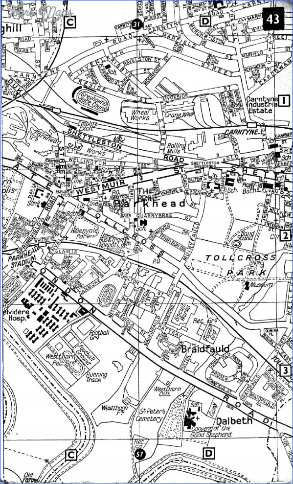 map of parkhead glasgow 11 Map Of Parkhead Glasgow