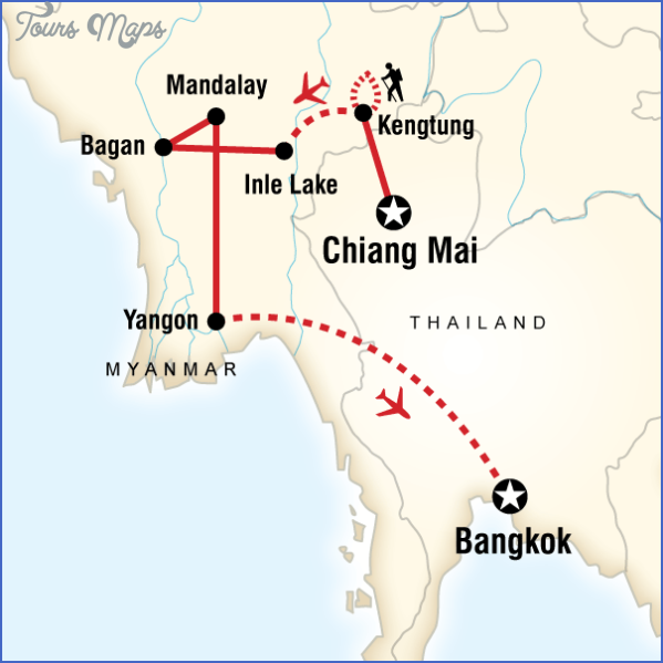 map of thailand and burma 12 Map Of Thailand And Burma