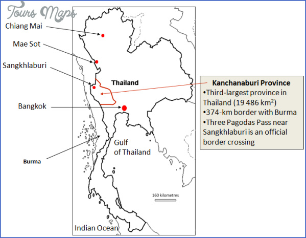 map of thailand and burma 14 Map Of Thailand And Burma