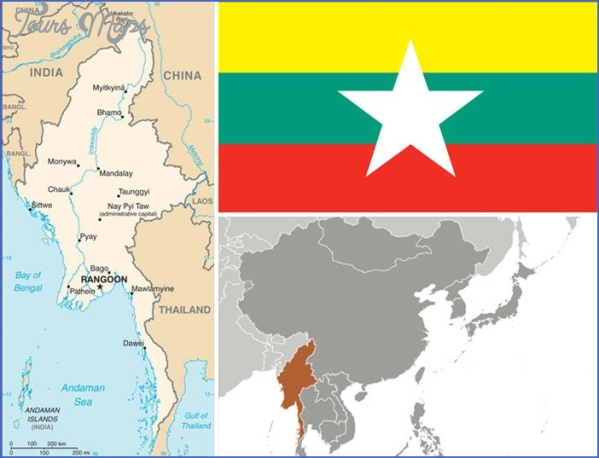 maps of burma 8 Maps Of Burma