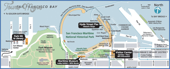 maritime museum aquatic park map san francisco 14 MARITIME MUSEUM, AQUATIC PARK MAP SAN FRANCISCO