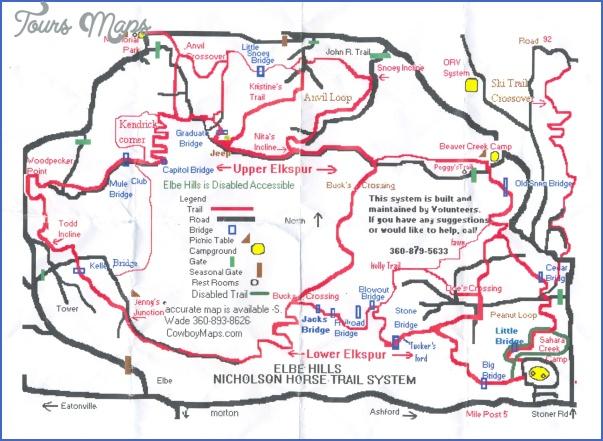 mt baldy hike map 7 Mt Baldy Hike Map
