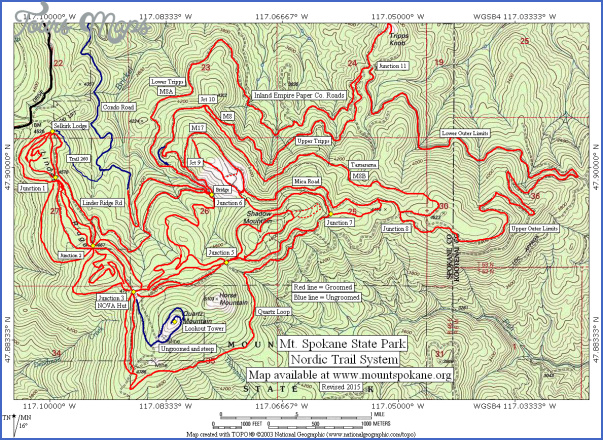 mt washington hiking trails map 14 Mt Washington Hiking Trails Map