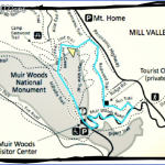 muir woods hiking trails map 3 150x150 Muir Woods Hiking Trails Map