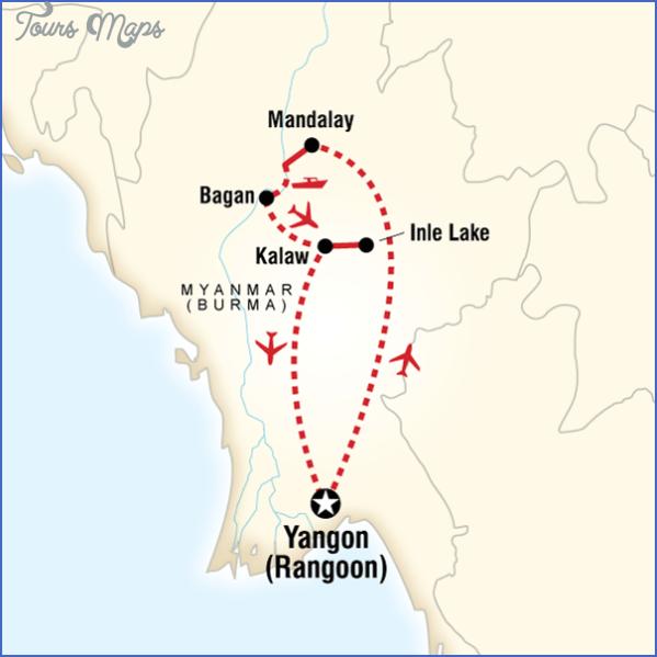 myanmar burma map 3 Myanmar Burma Map