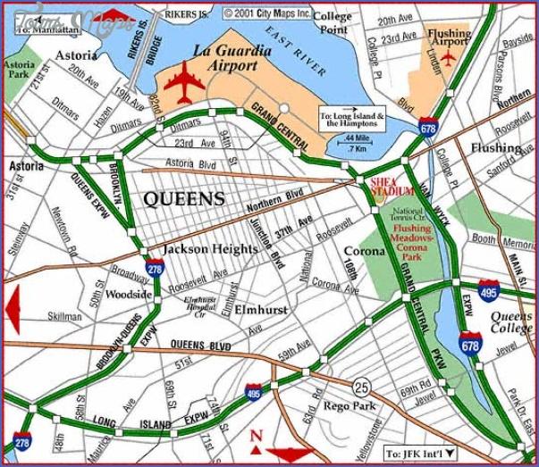 new york map airports  0 New York Map Airports