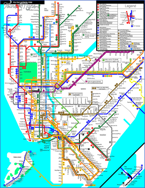 New York Map Airports - ToursMaps.com