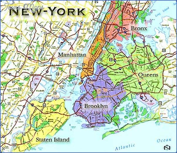 new york map geographical  11 New York Map Geographical