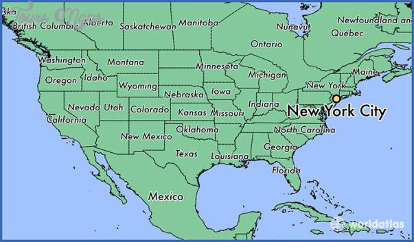 new york map geographical  15 New York Map Geographical