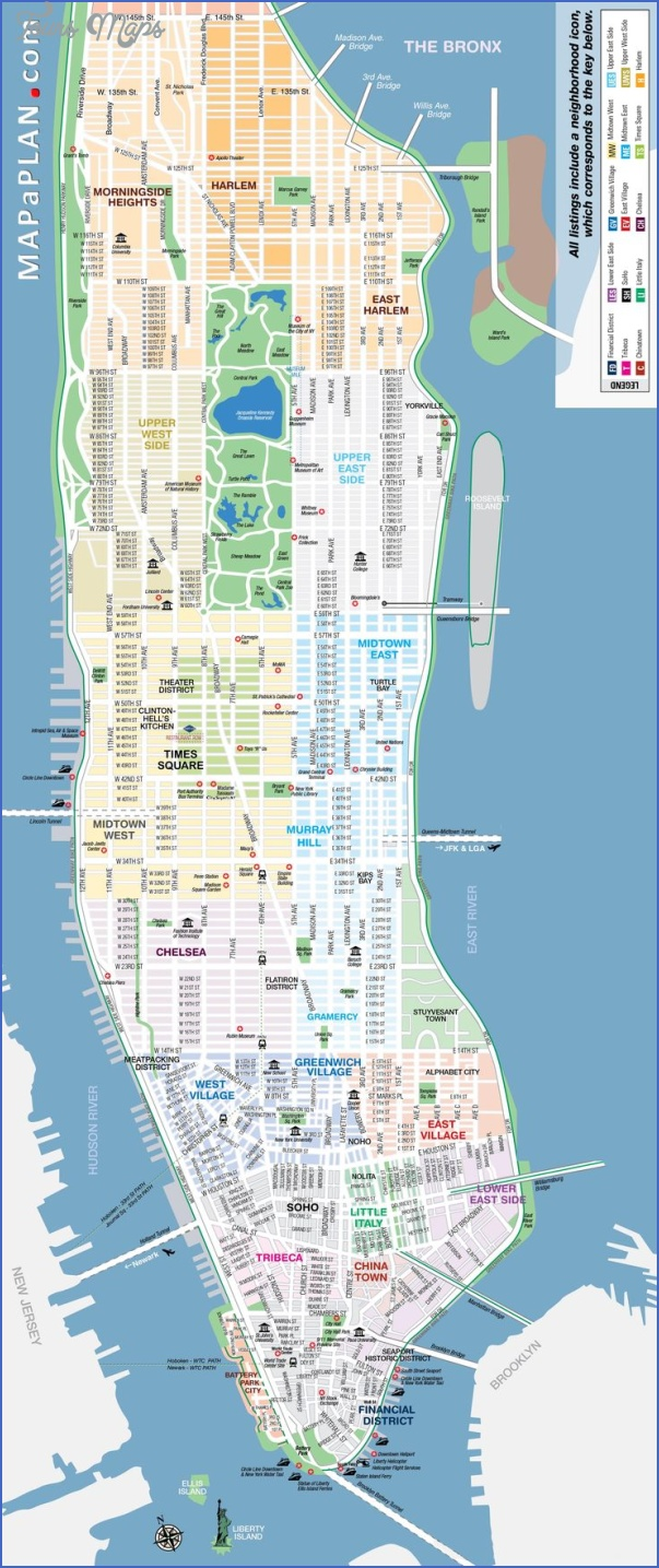 new york map geographical  6 New York Map Geographical