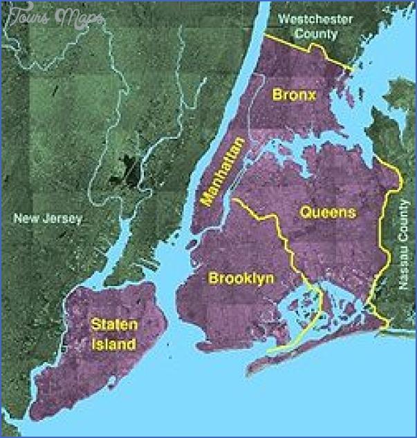 new york map geographical  8 New York Map Geographical