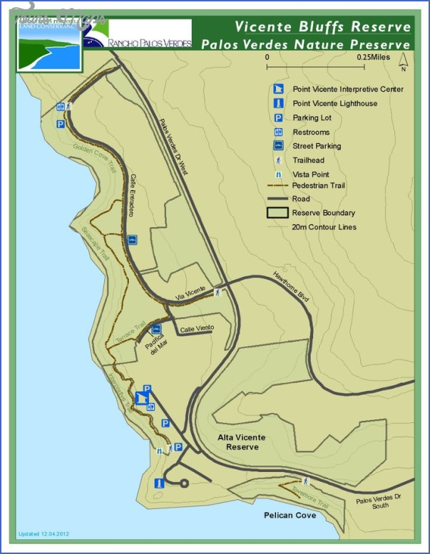 palos verdes hiking trails map 14 Palos Verdes Hiking Trails Map