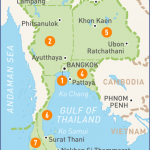 pattaya thailand map in world map  13 150x150 Pattaya Thailand Map In World Map