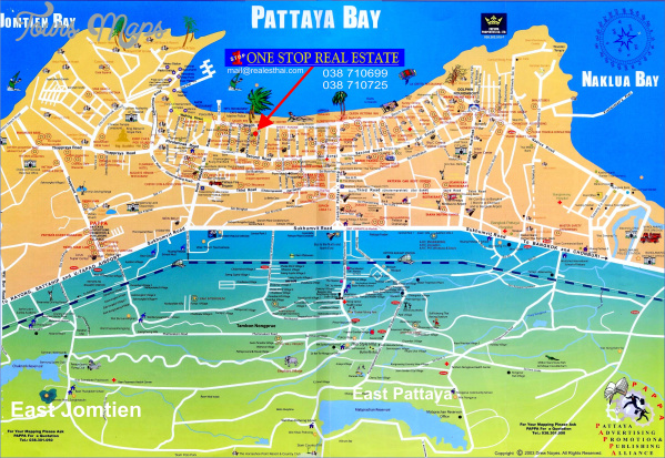 pattaya thailand map location  4 Pattaya Thailand Map Location