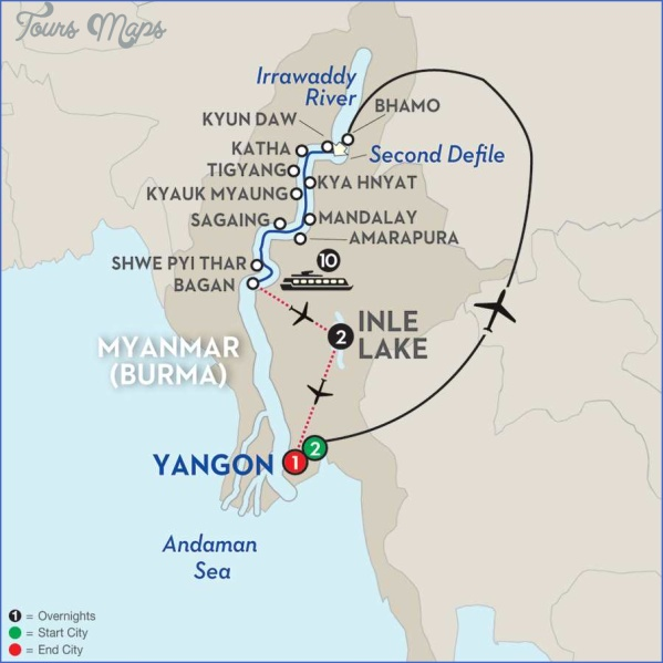 rangoon burma map 4 Rangoon Burma Map