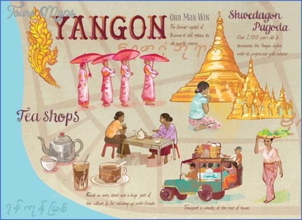 rangoon burma map 6 Rangoon Burma Map