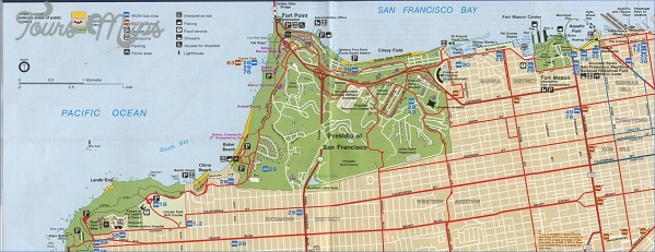 san francisco golden gate map 13 San Francisco Golden Gate Map