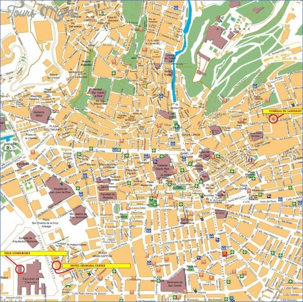 santiago de compostela map of cities  17 Santiago de Compostela Map Of Cities