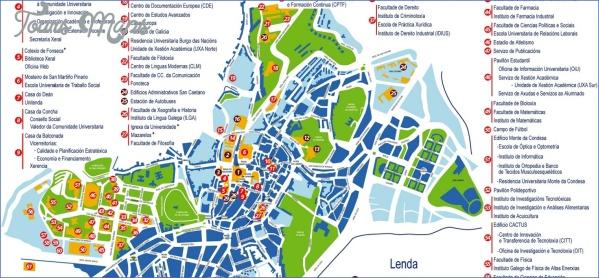 santiago de compostela map of cities  2 Santiago de Compostela Map Of Cities
