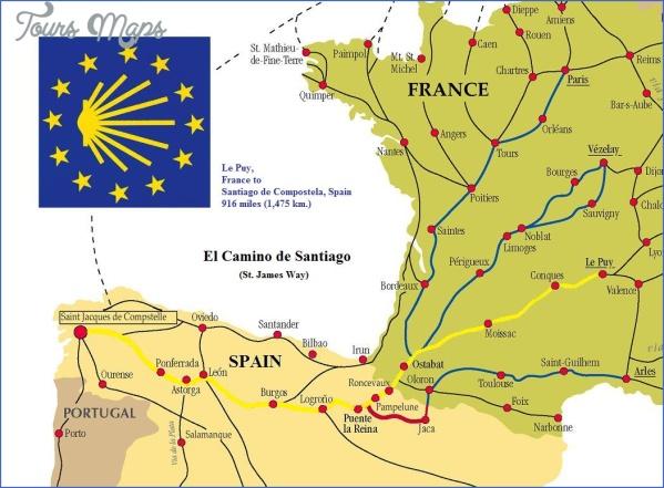Santiago De Compostela Map Of Europe Toursmaps Com