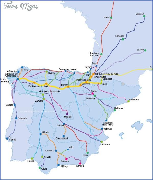 santiago de compostela map of the world  6 Santiago de Compostela Map Of The World