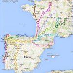 santiago de compostela map road  11 150x150 Santiago de Compostela Map Road