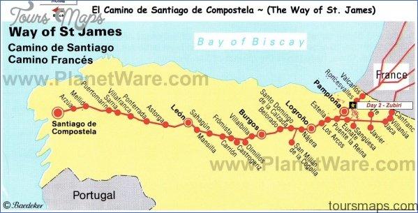 santiago de compostela map with counties  1 Santiago de Compostela Map With Counties