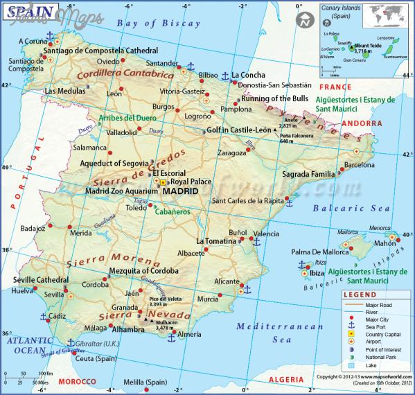 santiago de compostela map with counties  13 Santiago de Compostela Map With Counties