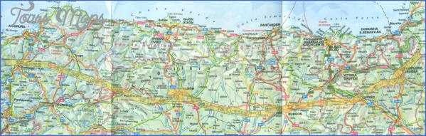 santiago de compostela map world atlas  14 Santiago de Compostela Map World Atlas