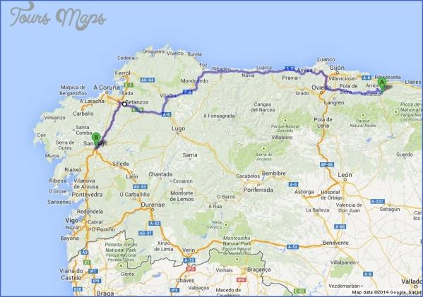 santiago de compostela map world atlas  5 Santiago de Compostela Map World Atlas