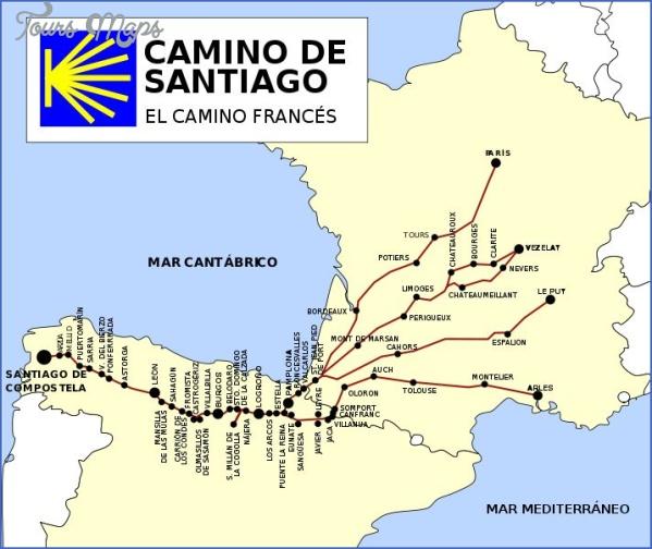 santiago de compostela road map online  10 Santiago de Compostela Road Map Online