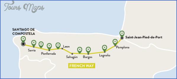 santiago de compostela road map online  12 Santiago de Compostela Road Map Online