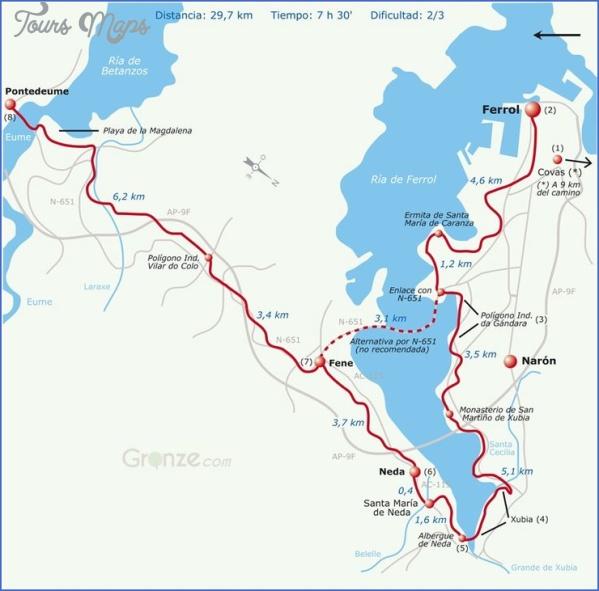 santiago de compostela road map online  14 Santiago de Compostela Road Map Online