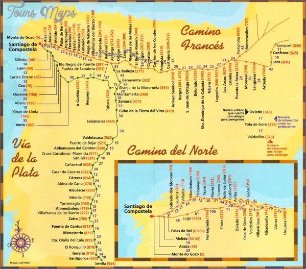 santiago de compostela road map online  2 Santiago de Compostela Road Map Online