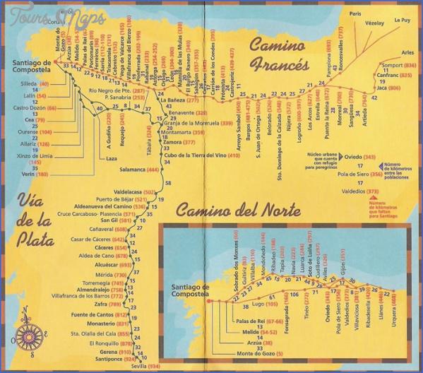 santiago de compostela road map online  3 Santiago de Compostela Road Map Online