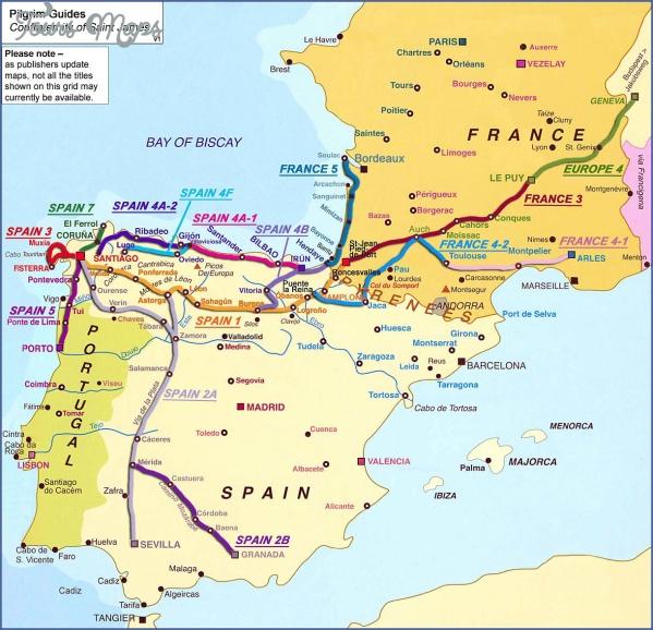 santiago de compostela road map online  7 Santiago de Compostela Road Map Online