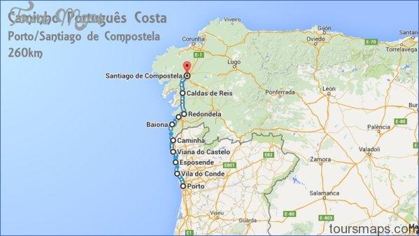 santiago de compostelan mountains map  0 Santiago de Compostelan Mountains Map